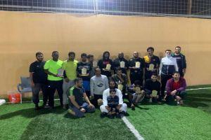 فعاليات الدوري الخماسي  لكرة القدم  لفريق رؤية شباب