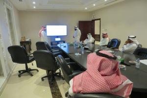 اجتماع أعضاء مجلس الإدارة 10 شوال 1442 هـ  الموافق  9-6-2021 م